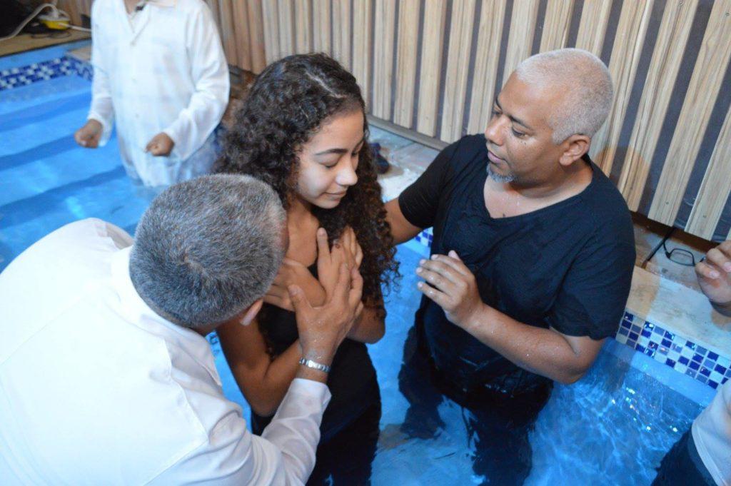 Batismo Regional e Recebimento de Novos Membros - 19/11/2017
