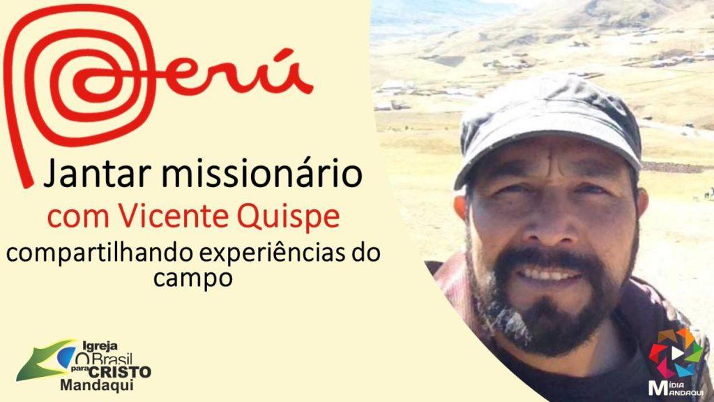 Jantar Missionário - Peru - 01/11/2017