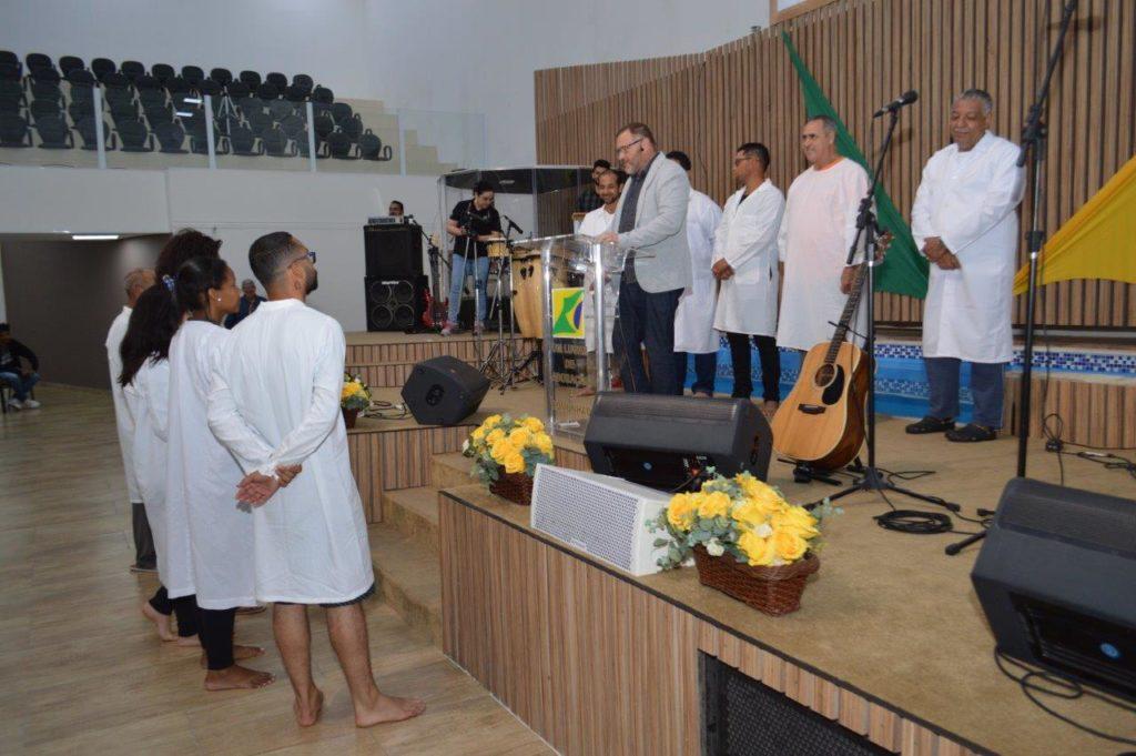 Batismo e recebimento de novos membros - 22/07/2018