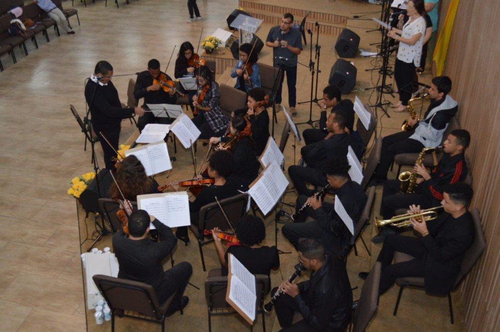 Culto 29/07/2018 - Orquestra EAB e Apresentação de Bebês